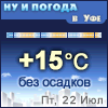 Ну и погода в Уфе - Поминутный прогноз погоды